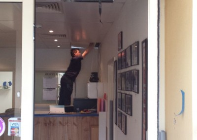 Installation of a surveillance and security system in a shop and office Adelaide