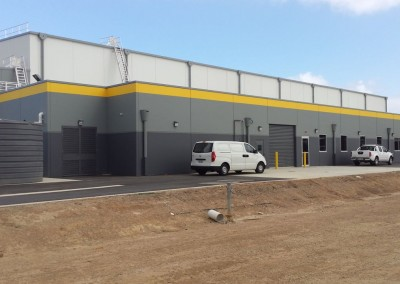 A major commercial warehouse where Clarke Locksmiths installed safes locks and surveillance systems in Adelaide