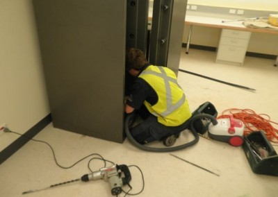 Safe installation during shopping centre construction Adelaide