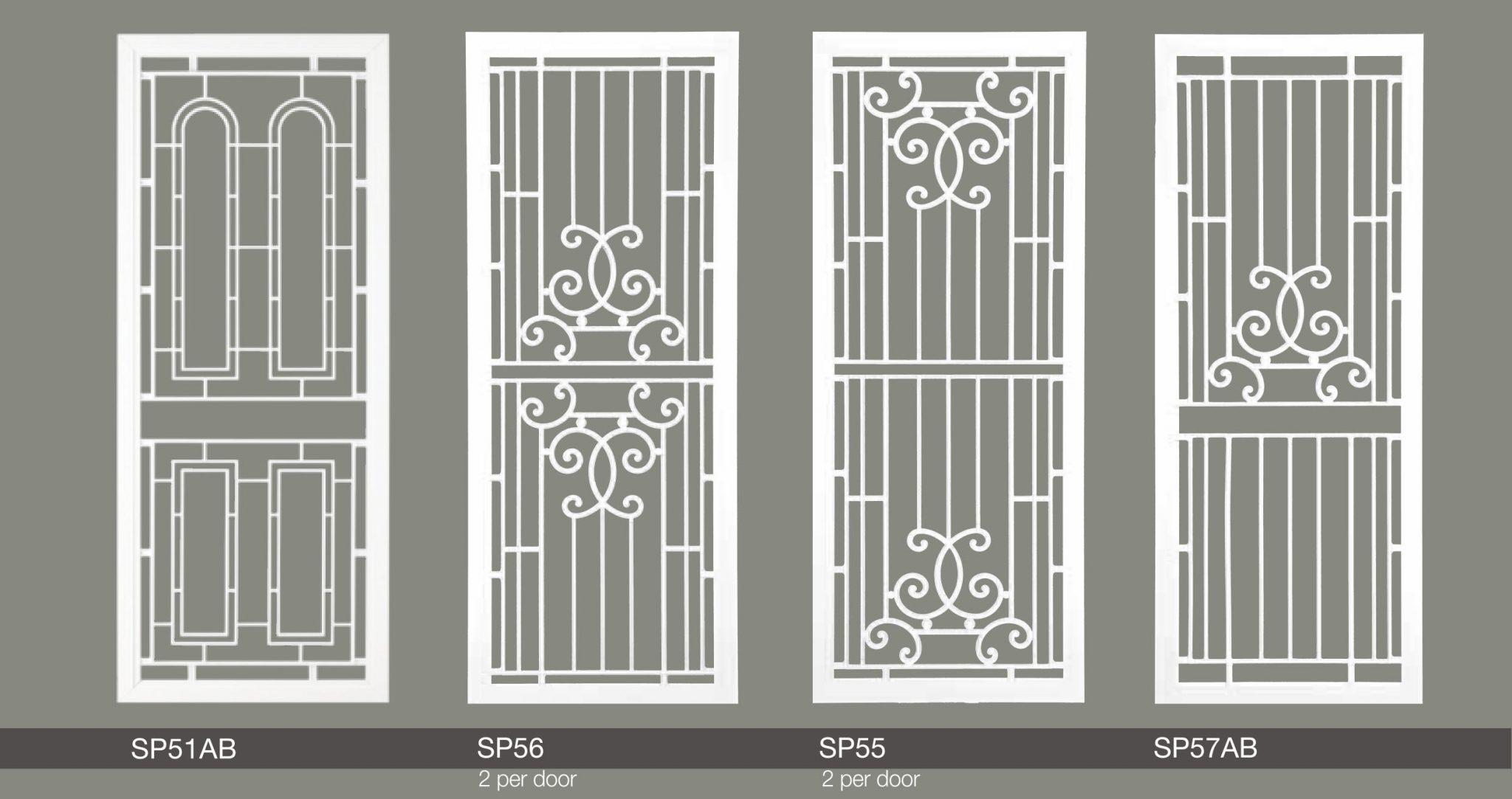 elegant hinged doors