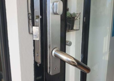 A door lock being repaired in suburban Adelaide - After Pic