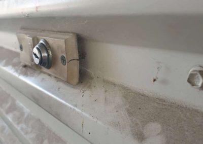 Roller door key replacement