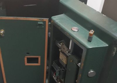 A safe installed in Coober Pady by Clark Locksmiths