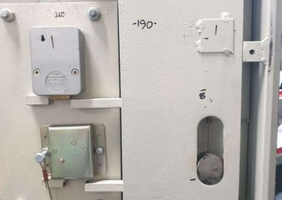 A commercial safe repaired in Murray bridge